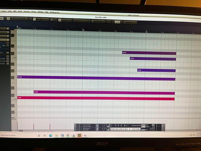 BB - Cubase MIDI Tets