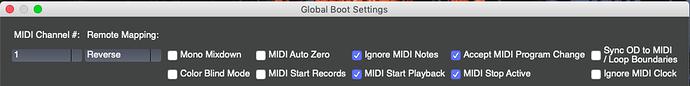 persist Global Boot Settings
